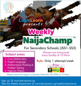 weekly naijachamp