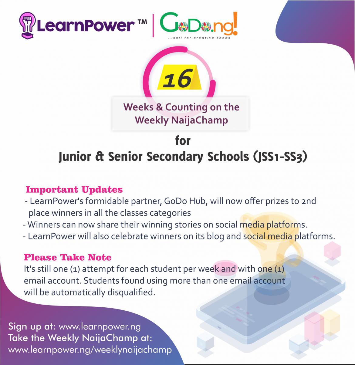 LearnPower GodoHub partnership